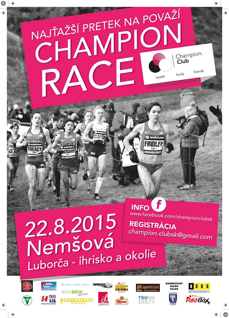 champion.race plagát 2015